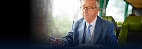 Predseda Juncker