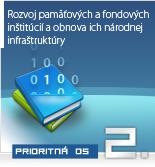 Rozvoj pamätových a fondových inštitúcií a obnova ich národnej infraštruktúry