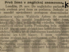 Slovenský východ z 2. decembra 1919, str. 1