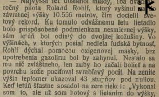 Slovenský týždenník z 31. októbra 1919, str. 3
